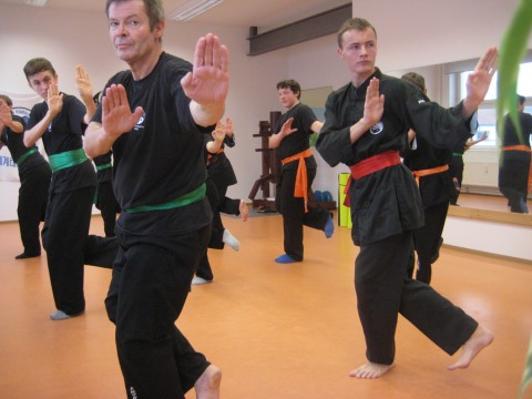 Shaolin Kung Fu Intensivtrainings vom 5. Nov. 2016