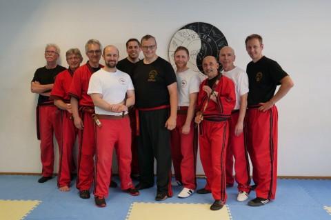 Prüfer und Trainer aus Hamburg, München, Spaichingen, Berg und Ulm mit Datu D. Knüttel.