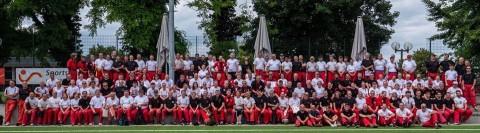 Teilnehmer des 16. Int. Arnis Sommerlagers 2019